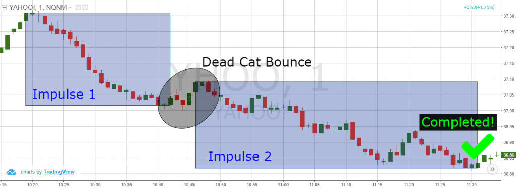 Dead Cat Bounce Targets